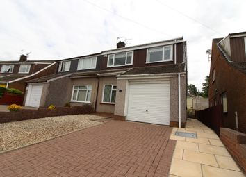 Thumbnail 3 bed semi-detached house for sale in Elgar Close, Fairview, Blackwood