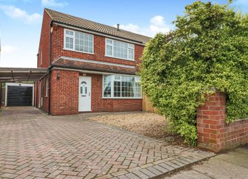Thumbnail 3 bed semi-detached house for sale in Chichester Road, Cleethorpes