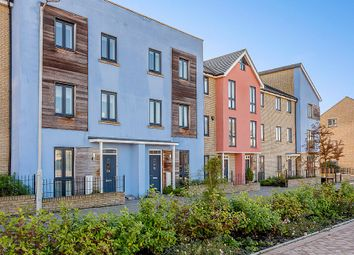 Thumbnail 3 bed town house for sale in Station Square, St. Neots, St. Neots, Cambridgeshire