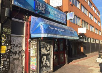 Thumbnail Retail premises for sale in Hackney Road, London