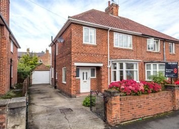 Thumbnail 3 bedroom semi-detached house for sale in Bootham Crescent, York