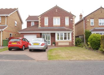 Thumbnail 4 bed detached house for sale in Conway Close, Bedlington