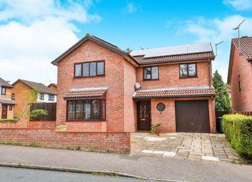 Thumbnail 6 bed detached house for sale in Haverscroft Close, Taverham, Norwich
