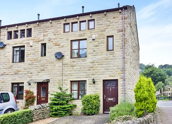 Thumbnail 4 bed terraced house for sale in Longstaff Court, Hebden Bridge