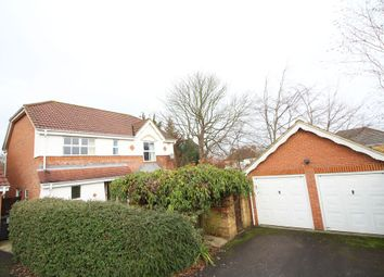 Thumbnail 4 bed detached house for sale in Furzedown Close, Egham