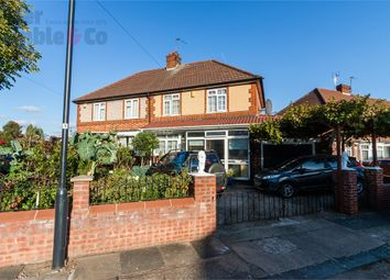 Thumbnail 3 bed semi-detached house for sale in Bamford Avenue, Wembley, Greater London