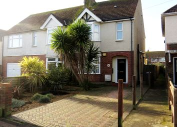 Thumbnail 3 bedroom semi-detached house for sale in St. Andrews Road, Worthing