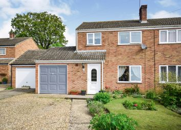 Thumbnail 3 bed semi-detached house for sale in Admirals Walk, Hingham, Norwich