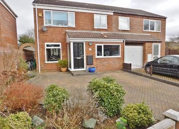 Thumbnail 4 bed semi-detached house for sale in Hawk Close, Hill Head, Fareham