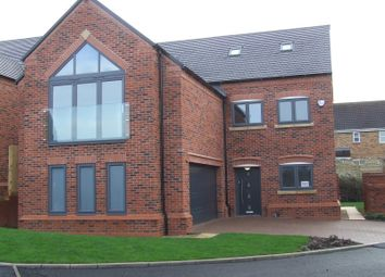 Thumbnail 5 bed detached house for sale in Swarkestone Road, Chellaston, Derby