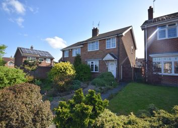 Thumbnail 3 bedroom semi-detached house to rent in Church Avenue, Church Gresley, Swadlincote