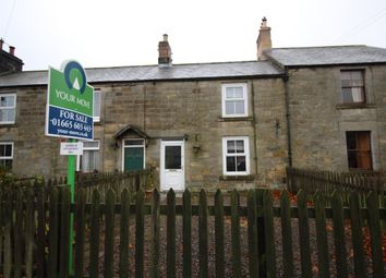 Thumbnail 2 bed terraced house for sale in The Terrace, Thropton, Morpeth