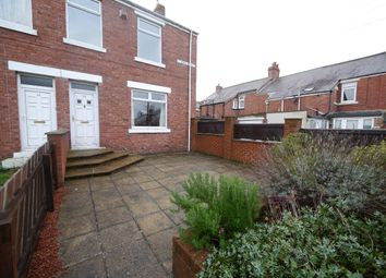 Thumbnail 3 bedroom end terrace house to rent in Wood Street, Burnopfield, Newcastle Upon Tyne