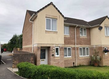 Thumbnail 3 bed semi-detached house for sale in Clos Ysbyty, Cimla, Neath, Neath Port Talbot.