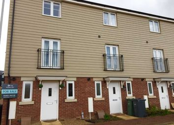 Thumbnail 3 bed town house for sale in Falcon Crescent, Norwich