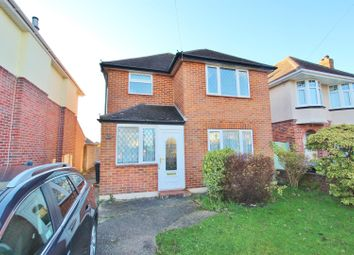 Thumbnail 3 bedroom detached house for sale in Leybourne Avenue, Northbourne, Bournemouth