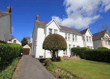 Thumbnail 4 bed semi-detached house for sale in Longacre Road, Carmarthen, Carmarthenshire