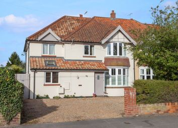 Thumbnail 4 bed semi-detached house for sale in Ringsfield Road, Beccles