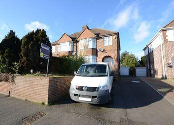 Thumbnail 3 bed semi-detached house to rent in Lower Farnham Road, Aldershot