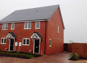 Thumbnail 2 bed semi-detached house for sale in Poplars Road, Croft