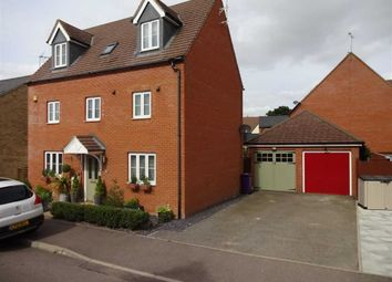 Thumbnail 5 bed detached house for sale in Snowdonia Way, Stevenage, Herts