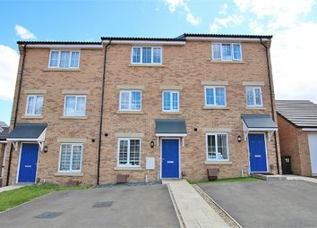 Thumbnail 4 bed terraced house for sale in Eider Close, Dragonfly Meadows, Northampton