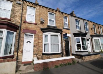Thumbnail 2 bedroom terraced house for sale in Spring Bank, Scarborough