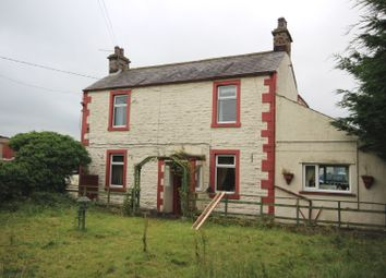 Thumbnail 4 bed detached house for sale in Laverick Cottage & Scrap Yard, Aspatria, Wigton