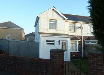 3 bed semi-detached house to rent in Coychurch Road Gardens, Bridgend CF31