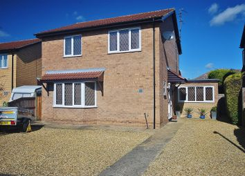 Thumbnail 3 bed detached house for sale in Saxon Close, Spalding