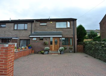 Thumbnail 3 bed end terrace house for sale in Roundway, Honley, Holmfirth