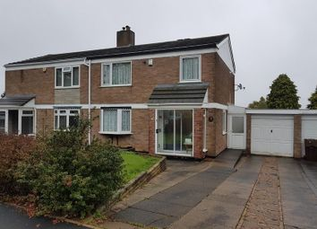 Thumbnail 3 bedroom semi-detached house for sale in Fairway Drive, Rednal, Birmingham