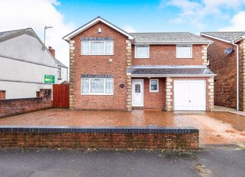 Thumbnail 4 bedroom detached house for sale in Swansea Road, Pontlliw, Swansea