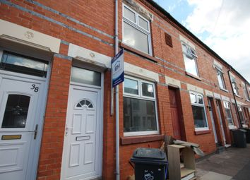 Thumbnail 3 bed terraced house to rent in Osborne Road, Leicester