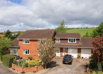 Thumbnail 4 bed detached house for sale in Chapel Downs Drive, Crediton