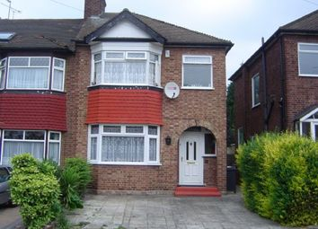 Thumbnail 4 bed semi-detached house to rent in Trevose Road, London