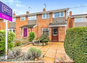 Thumbnail 4 bed end terrace house for sale in Eversley Road, Arborfield, Reading