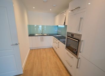 Thumbnail 1 bed flat to rent in Waterside Way, London