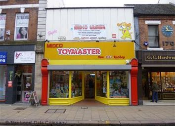 Thumbnail Retail premises for sale in High Street, Burton Upon Trent, Staffordshire