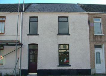 Thumbnail 3 bed terraced house for sale in Oakwood Street, Port Talbot