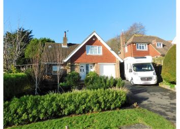 Thumbnail 3 bed detached house for sale in Upper Ratton Drive, Eastbourne
