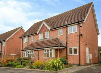 Thumbnail 3 bedroom semi-detached house for sale in Brook Chase Mews, Beeston, Nottingham, Nottinghamshire