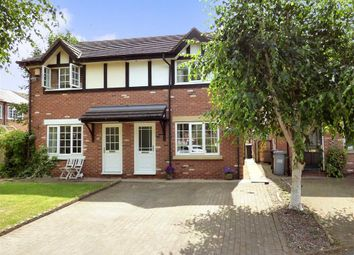 Thumbnail 3 bed semi-detached house for sale in Birchwood Drive, Nantwich