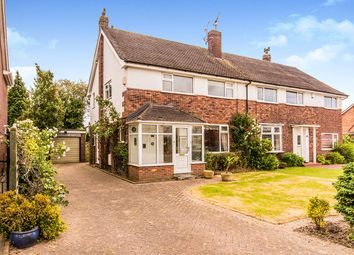Thumbnail 3 bed semi-detached house for sale in Hope Avenue, Handforth, Wilmslow