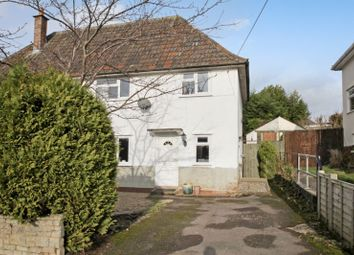 Thumbnail 3 bedroom semi-detached house for sale in Everett Close, Wells
