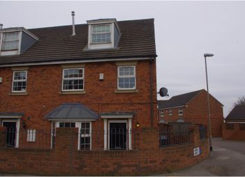 Thumbnail 4 bedroom terraced house for sale in Linden Court, Robin Hood, Leeds