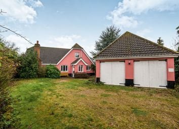Thumbnail 5 bedroom bungalow for sale in Westhorpe Road, Finningham, Stowmarket