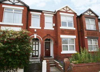 Thumbnail 4 bed terraced house for sale in Berkeley Avenue, Manchester