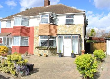 Thumbnail 3 bed semi-detached house for sale in Felstead Avenue, Ilford