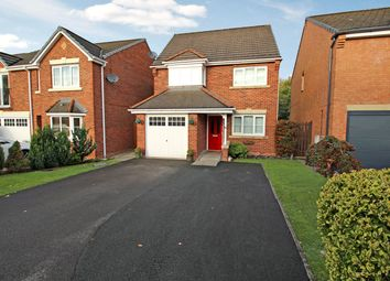 Thumbnail 4 bed detached house for sale in Thrush Way, Winsford